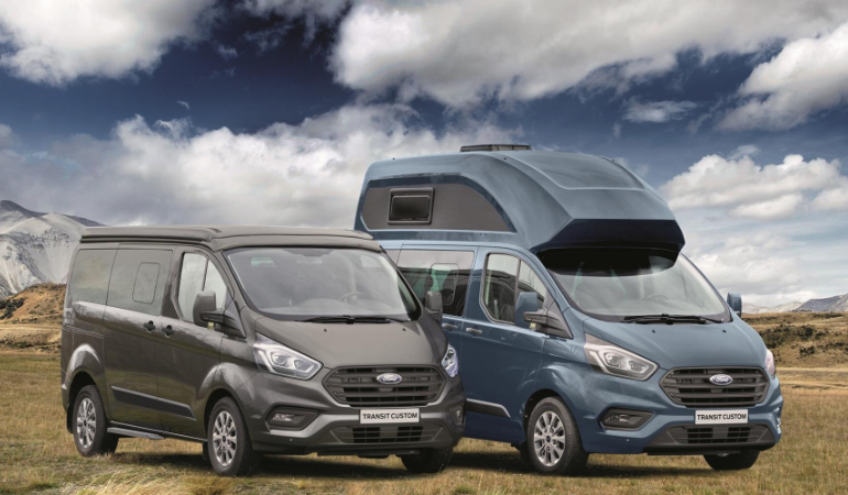 Ford Nugget Modellen van Westfalia
